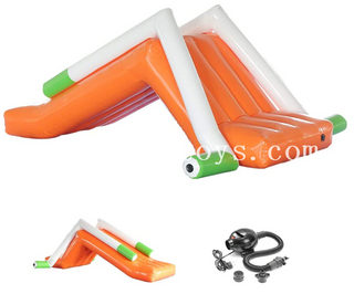 Pool Toys Inflatable Mini Slide / Floating Water Slide for Water Park Equipment