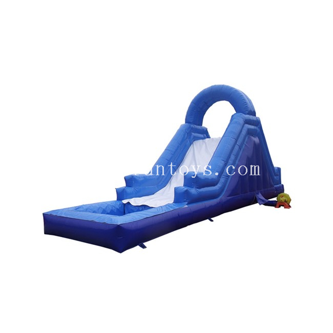 Blue Inflatable Water Slide with Pool / Inflatable Playground Slide / Inflatale Slide Water Games for Kids