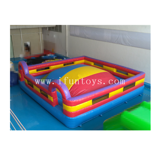 Race To The Top/ King of The Hill Inflatable Soft Air Jumping Conquest Mountain Climbing Challenge Game