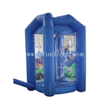 Outdoor Inflatable Money Grab Booth /Inflatable Cash Vault /Inflatable Cash Grab Box for Promotion