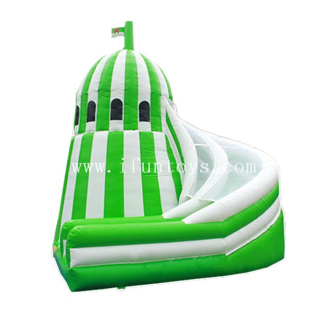 Inflatalbe Castle Corkscrew Slide / Inflatable Bouncer Slide / Inflatable Slides Combo for Kids