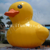 PVC Inflatable Yellow Duck Floating on Water for Advertising