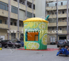 Portable Inflatable Lemonade Booth / Outdoor Concession Stand / Lemonade Bar Tent