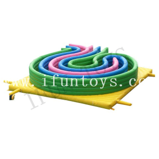 Inflatable 5K Run Race / Inflatable Obstacle Challenge Game / Inflatable Assault Course for Adults