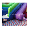 Giant Inflatable Water Slide With Stunt Jump Bag / Inflatable Drop Kick Water Slide /Inflatable Free Fall Slide