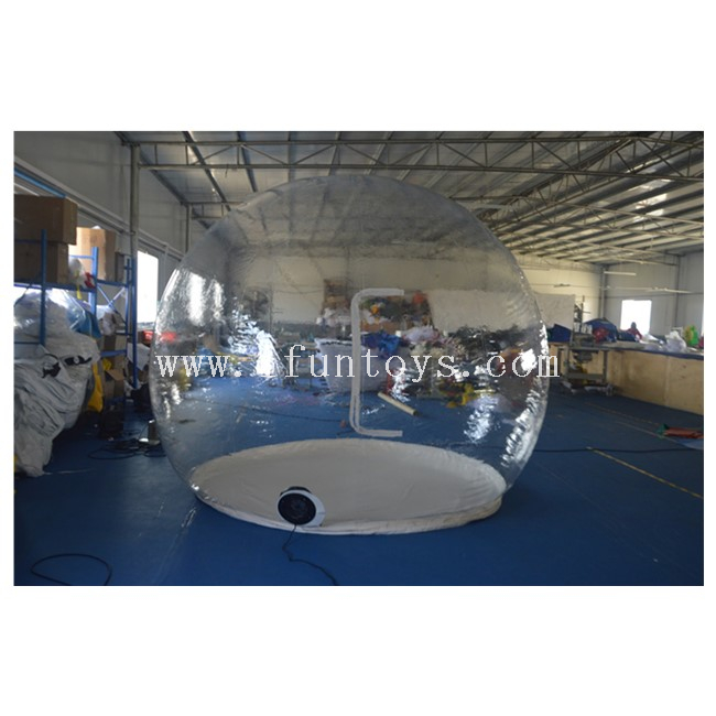 Outdoor Inflatable Display Show Ball / Inflatable Transparent Igloo Tent / Bubble Tent Inflatable Car Cover
