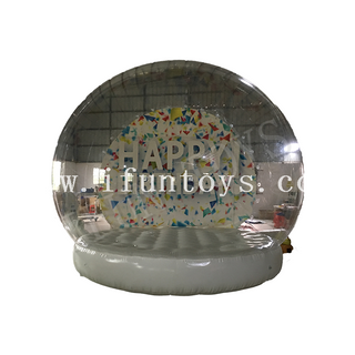 Inflatable Human Snow Globe / Inflatable Snow Globe Photo Booth / Giant Snow Globe Tent for Birthday Party