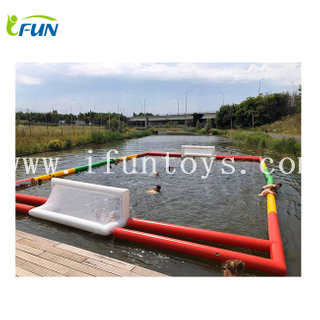 Beach inflatable water polo field pool polo sup polo stand up paddle polo pitch for sale