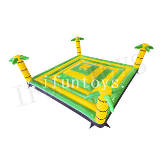 Palm Tree Inflatable Air Mountain / Inflatable Play Mountain / Soft Mountain Jumping Game