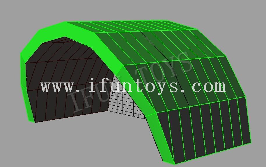 Portable Inflatable Concert Tent / Stage Cover Tent / Stage Roof Trade Show Tent