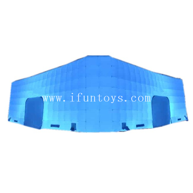 Giant Inflatable LED Cube Tent/ Inflatable Square Tent /Inflatable Building Tent for Party/Event/Wedding/Trade Show