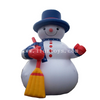 Popular Advertising Inflatable Christmas Snowman Model/inflatable snowman balloon for Christmas decoration
