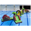 Inflatable Paradise Jungle Aqua Run / Inflatable Pool Obstacles for Water Game