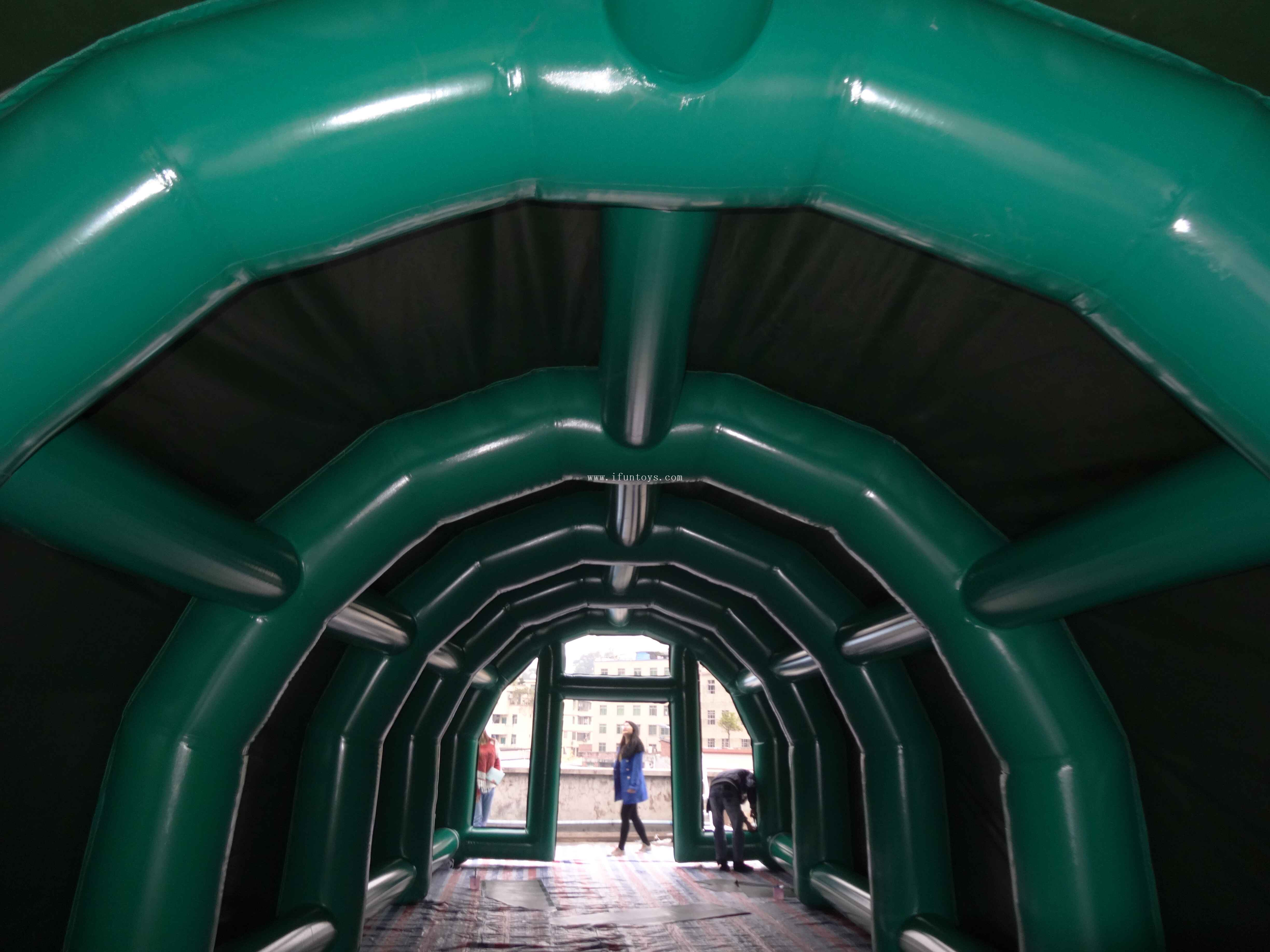 Outdoor Inflatable paintball arena/ Inflatable paintball tent /inflatable paintball bunkers field for sport game
