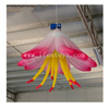 Color Changing Inflatable Hanging Flower / Inflatable Lily Flower with LED Lighting for Party