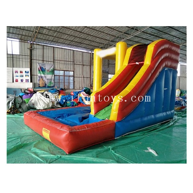 Inflatable Jumping Bouncy Castle Water Slide with Pool / Inflatable Slide with Pool / Inflatable Water Slide Combo for Kids