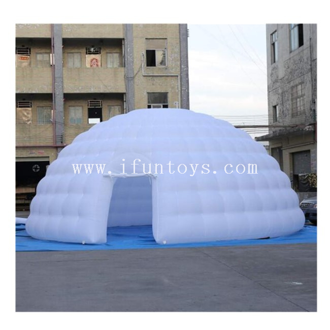 Inflatable White Dome Tent / Inflatable Igloo Dome Tent / Igloo Playhouse for Party